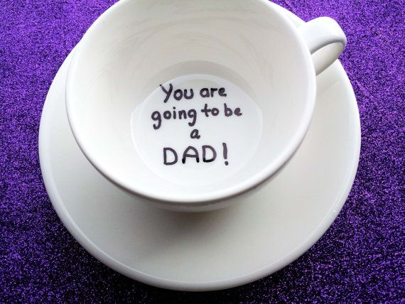 Pregnancy announcement cup, you are going to be a dad, personalized cup, custom cup, coffee cup