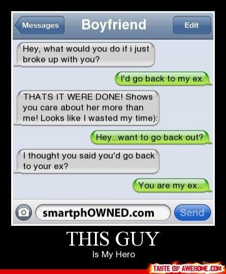 Funny texting..