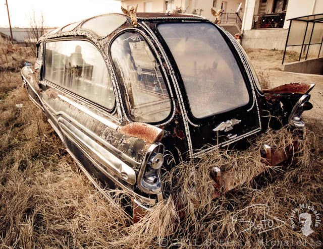Just a car guy : Buick Hearse found in Greece
