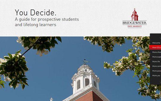 parallax website | bridgewater university