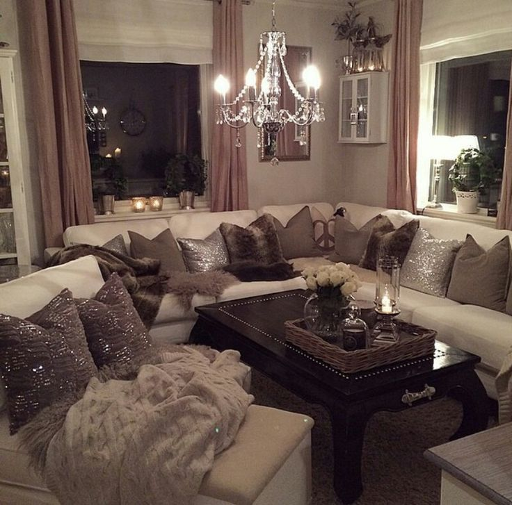 Cozy Apartment Living Room: 25+ Best Ideas About Glamorous Living Rooms On Pinterest