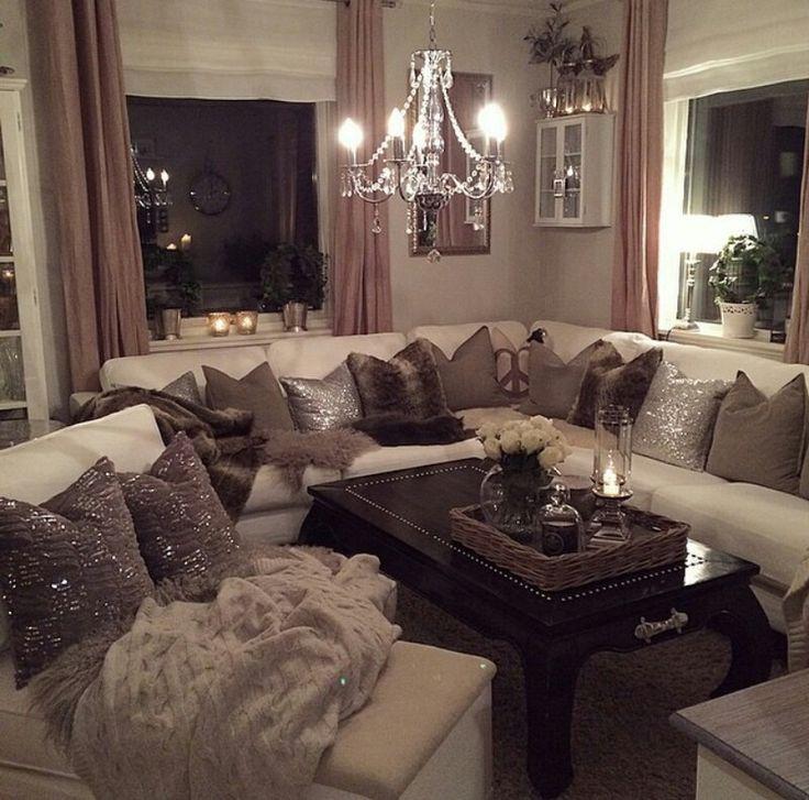 7Fccf4B3C9Fcbc5A2B3E86D33Cfb8448 736×727  Home  Pinterest Unique Luxury Living Room Interior Design Ideas Design Inspiration