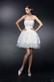krótkie suknie ślubne 01