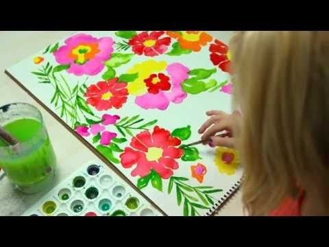 Lilly Pulitzer Making of a Print Summer 2012- Watch the Lilly Pulitzer Gardens By The Sea print come to life!!