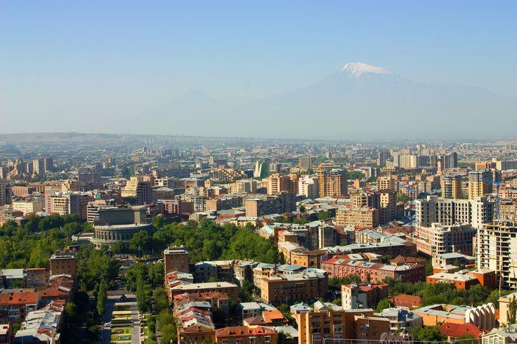 La ville d'Erevan : Bonjour Armenie  Capitale d'Arménie, Erevan sera votre point de chute lors de votre voyage en Arménie