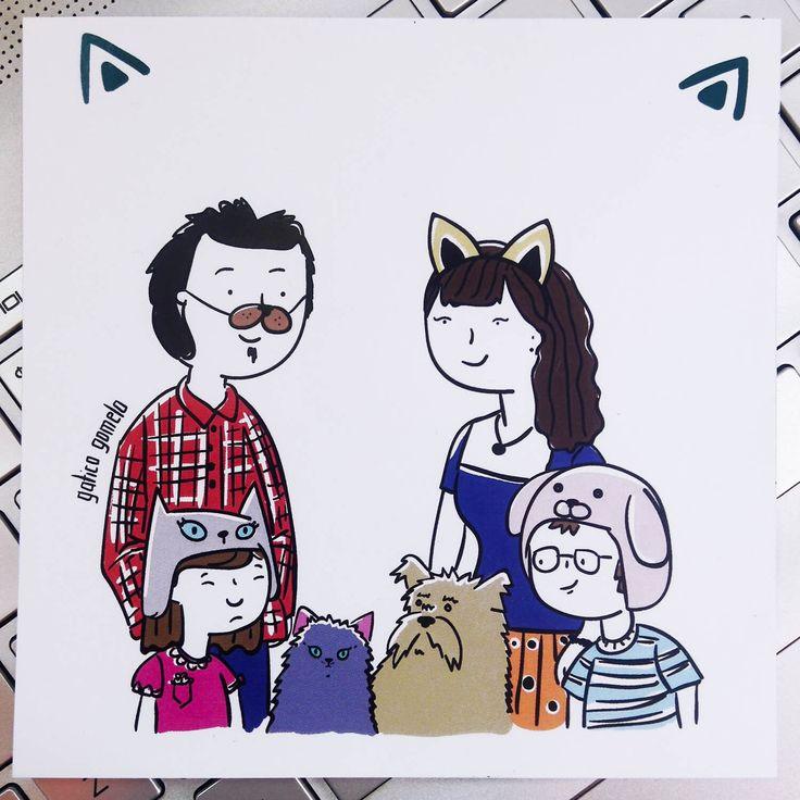 Stickers oficiales de Gatico gomelo. Toda la ternura y el gomelaje para que personalices todas tus cositas.