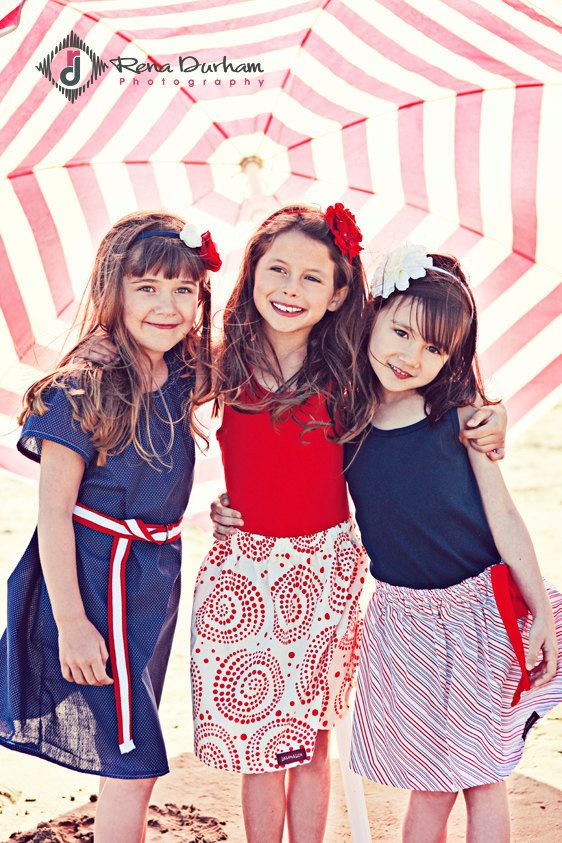 Buy 2 skirts get 1 FREE.... The Red Beach Swirly Skirt...baby...toddler..girls... eco-friendly...sustainable fashion design.. handmade childrens clothing by laken and lila. $26.50, via Etsy.