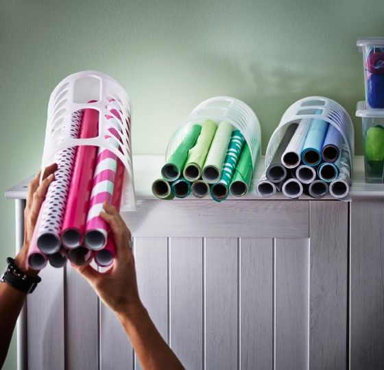 Australia In 2020 Wrapping Paper Storage Ikea Closet Makeover Diy