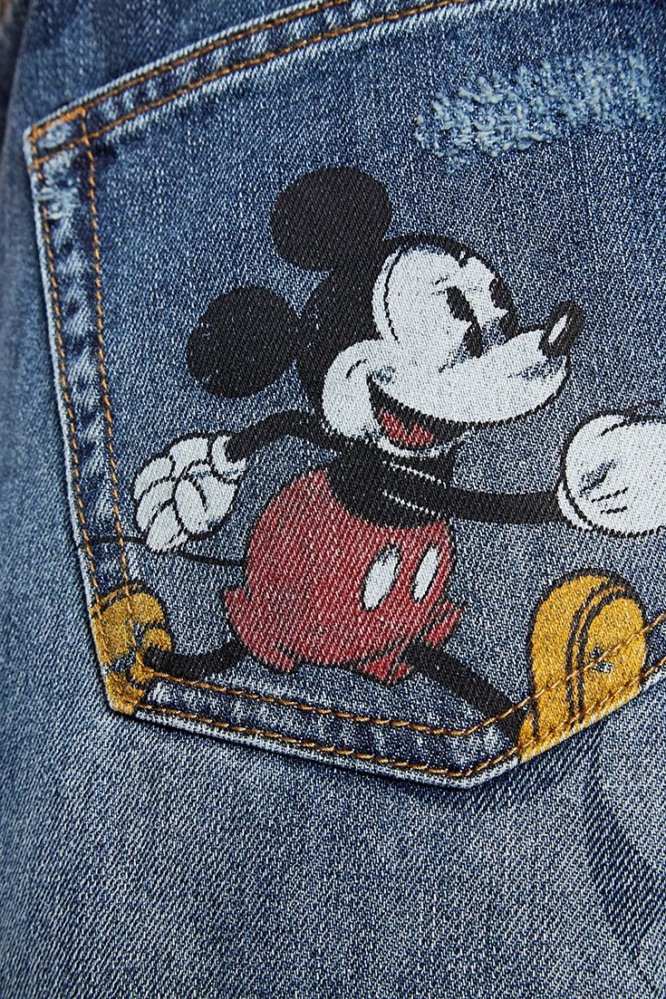 At Almost 90 Years Old Mickey Mouse Is Without A Doubt One Of Fashion S Hardest Working Style Icons And Desigual Used It On It S Iconic Fashion Style Denim