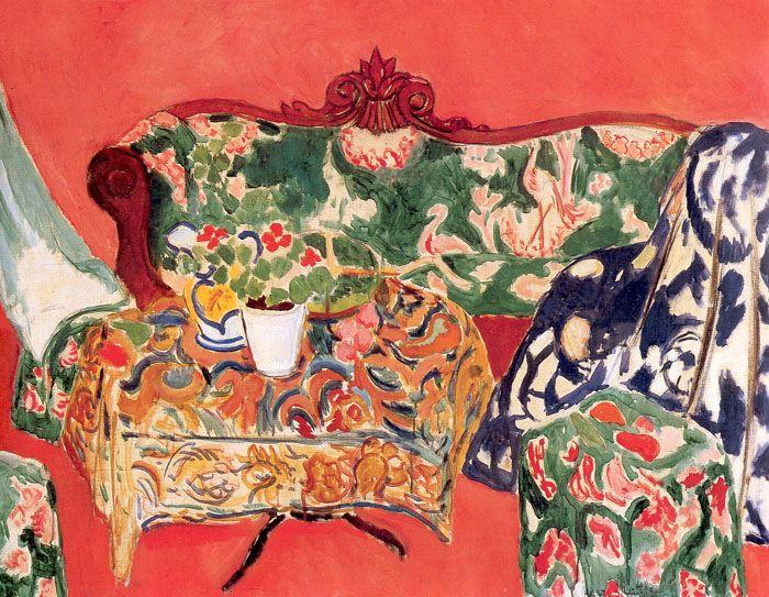 Henri Matisse - Seville Still Life Hermitage, Saint Petersburg c.1910-1911 © Succession H. Matisse 2009