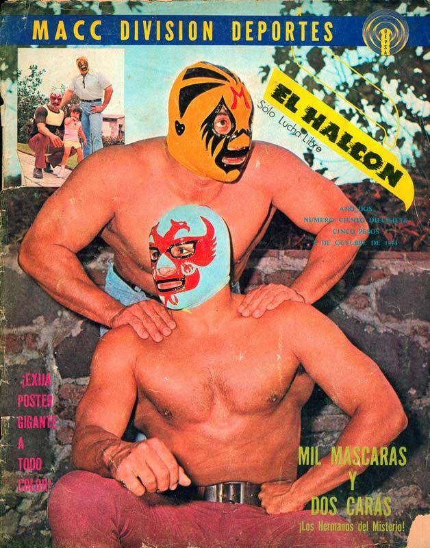 Mil Mascaras and Dos Caras, EL HALCON Magazine