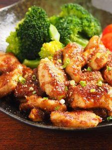 鶏むね肉のしょうが焼き 、 筋トレ食!