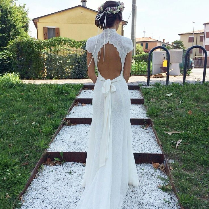 My dress, my flowers, our day