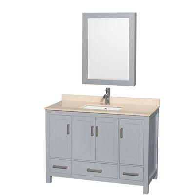 1000 ideas about gray bathroom vanities on pinterest Gray Bathroom Vanity with Mirrored Doors Mirrored Bathroom Vanity with Sink
