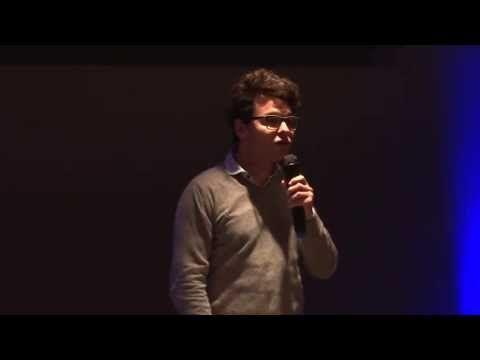 """Rodrigo Bello de Improcrash en el #140min. Gran charla """"El nacimiento de la idea en la improvisación teatral"""""""