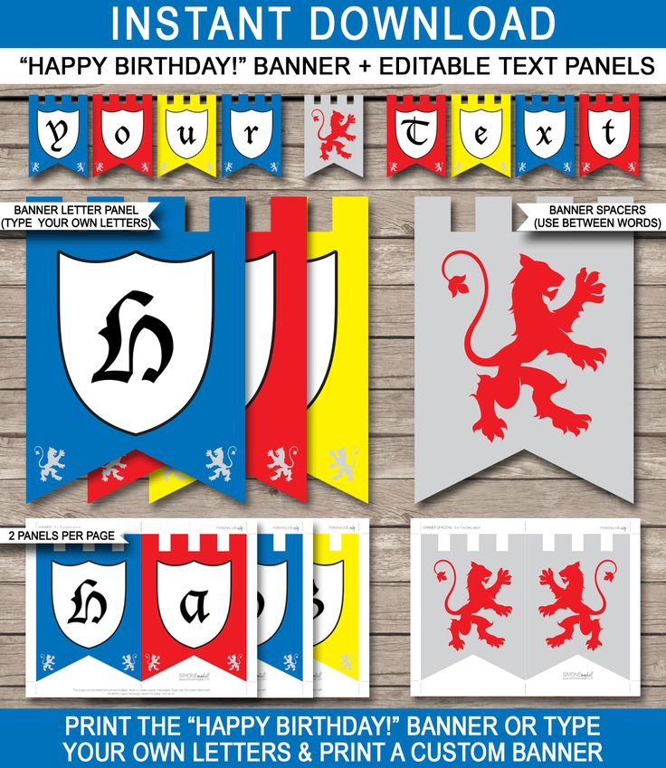 25+ Best Ideas About Pennant Banner Template On Pinterest