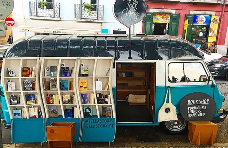 20 Imaginative Mobile Libraries Around The World