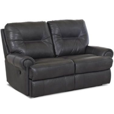 Brinkley Leather Reclining Motion Loveseat Jcpenney