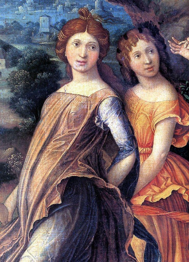 Андреа Мантенья. Марс и Венера, или Парнас
