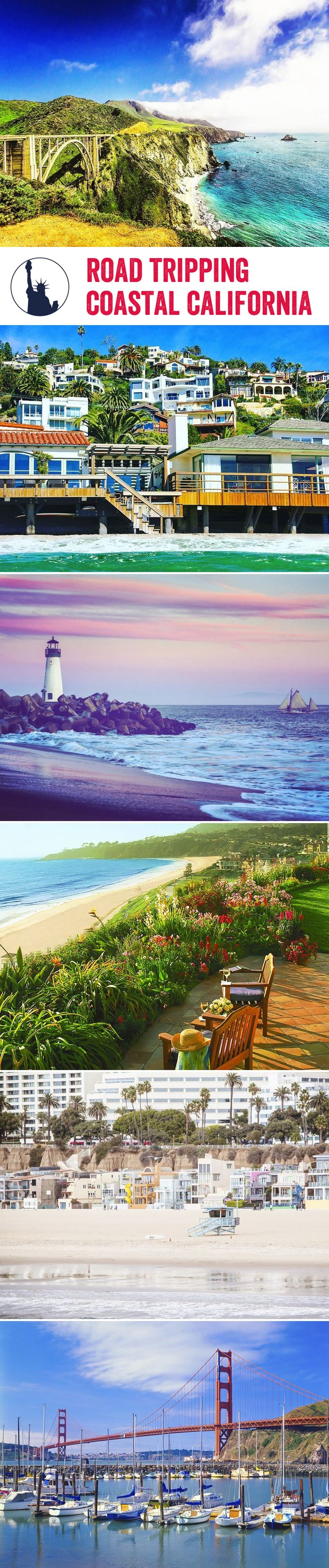 Wind down the windows and enjoy a laidback road trip down the Californian coast, stopping by our favourite locations along the way