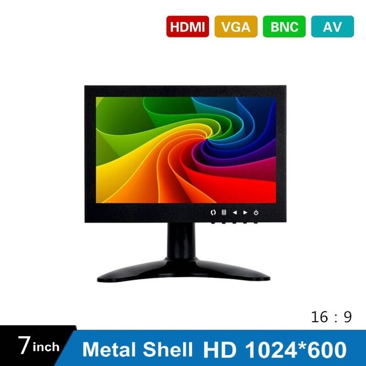 622.08$  Buy here  - (10Pcs) 7 Inch HD CCTV TFT-LED Monitor with Metal Shell & HDMI VGA AV BNC Connector for PC & Multimedia & Donitor Display