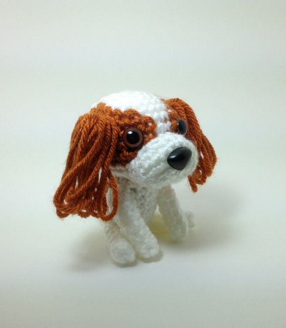 Looks like Cleo! ❤ Cavalier King Charles Spaniel Blenheim Stuffed Animal by Inugurumi, $25.00