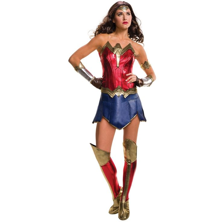 I found great Halloween Costumes on BuyCostumes.com. Batman v Superman: Dawn of Justice - Deluxe Wonder Woman Costume For Women, Click here to find more unique Costume ideas! Life's better in costume.