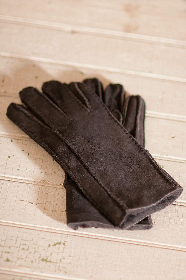 Women's Classic Sheepskin Gloves by Overland Sheepskin Co. (style 72404)