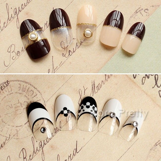 The 20 best images about metallic studs nails on pinterest 121 10pcsset mini pearl metal edge nail studs charming 3d nail art decoration prinsesfo Images