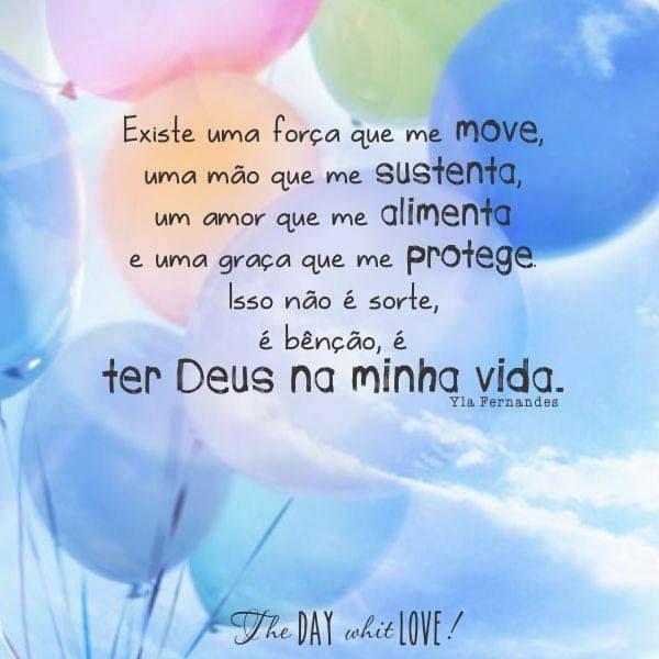 ) ter Deus na vida é muita benção ! Glória á Deus!
