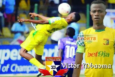 OLATUN'S NEWS: Remo Stars Hotshot Mbaoma Eager To Score And Dedic...