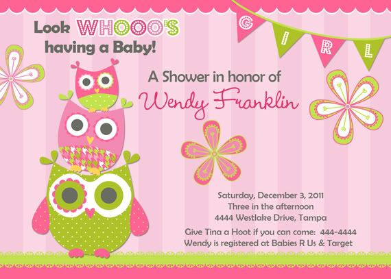 free printable baby shower invitations owl theme owl baby shower invitations u print fast