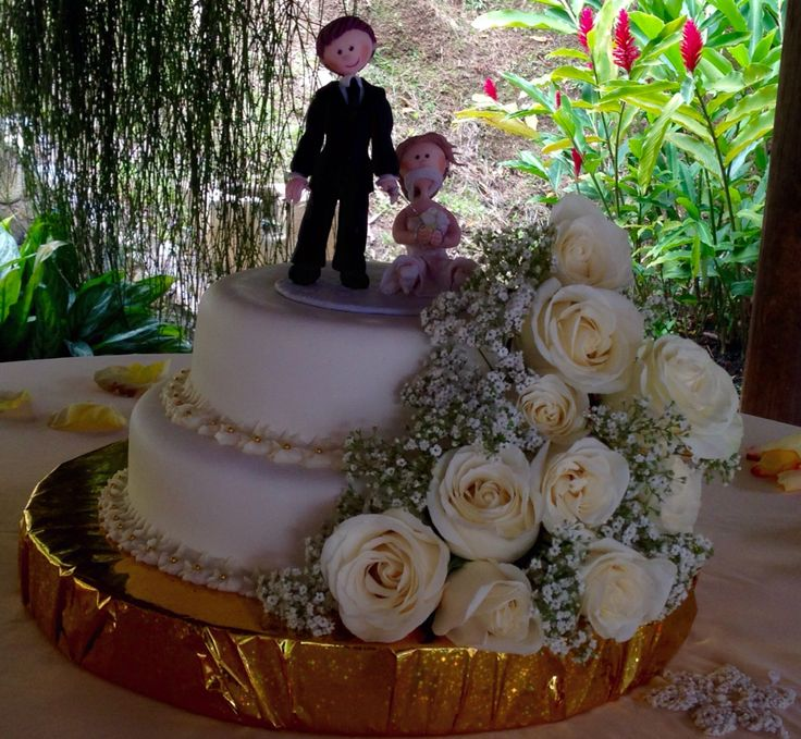 Tata-Sabores. Tortas & Postres. Torta Matrimonio