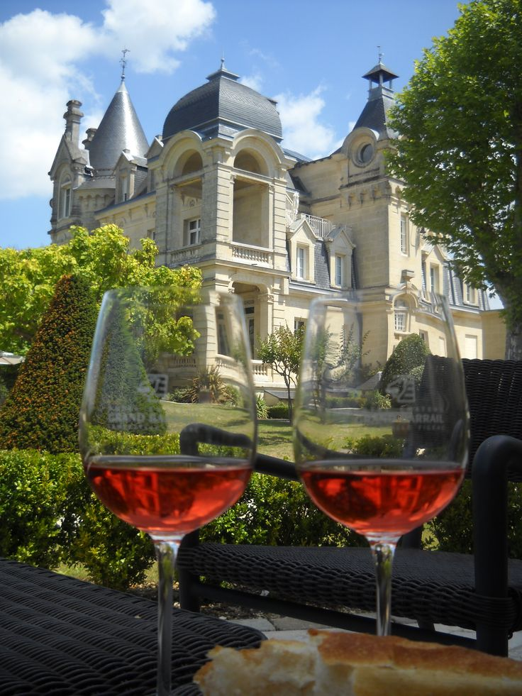 Bordeaux, France - wine country!  No doubt my sweetie and I will have a few sips here and there =o)