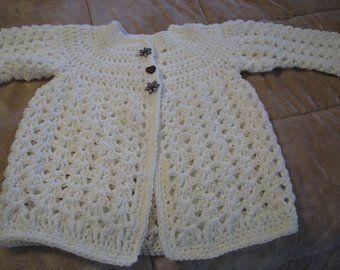39ca9397e Crochet Baby Cardigan