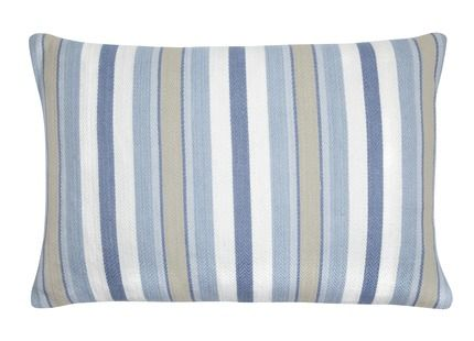 Cushion laura ashley lounge refresh pinterest for Blue and white striped chaise lounge cushions