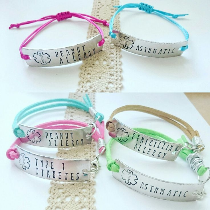 Medical ID alert bracelets are not only useful, but now they're beautiful too. :)