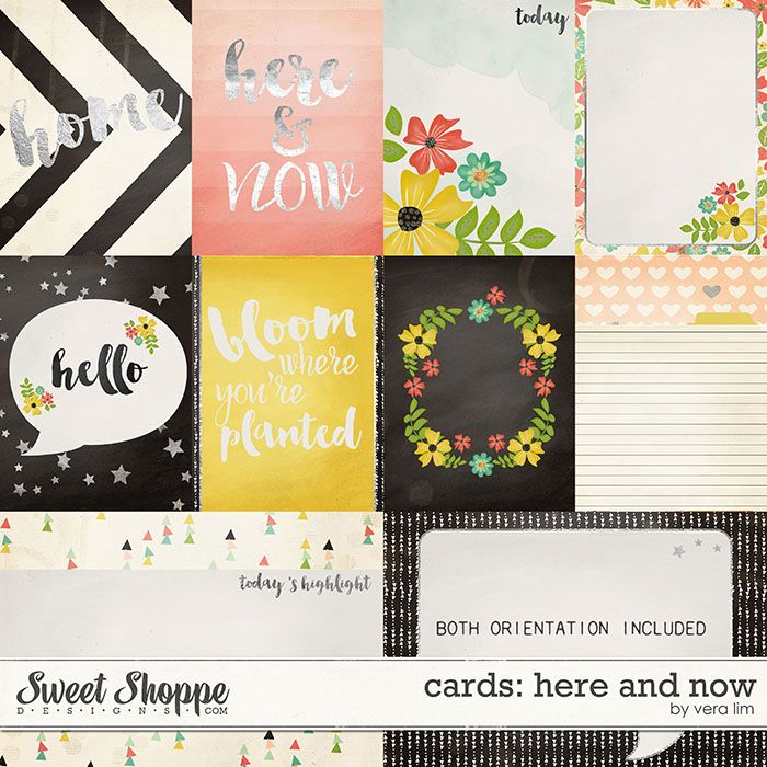 Here and Now :: Cards by Vera Lim
