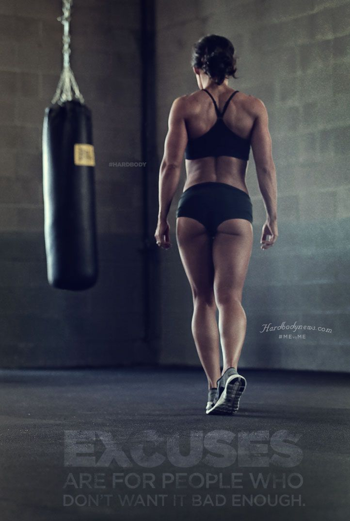 EXCUSES ARE FOR PEOPLE WHO DON'T WANT IT BAD ENOUGH. #MEvsME #hardbody #fitness #motivation  More at www.hardbodynews.com