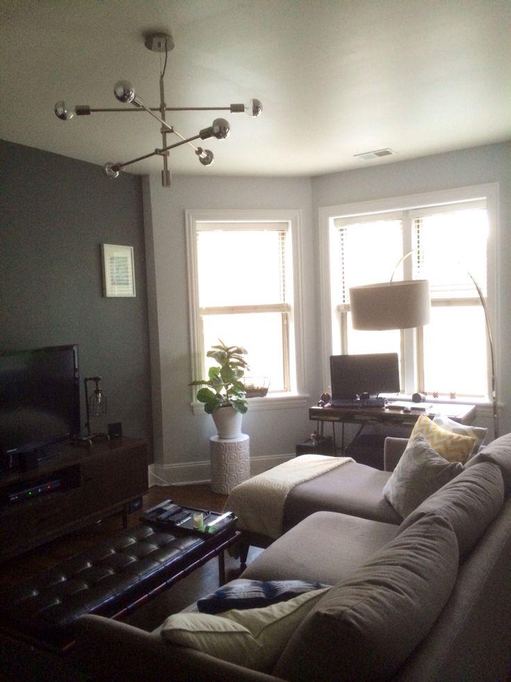 living room west elm mobile chandelier kenmore condo pinterest chandeliers living rooms. Black Bedroom Furniture Sets. Home Design Ideas