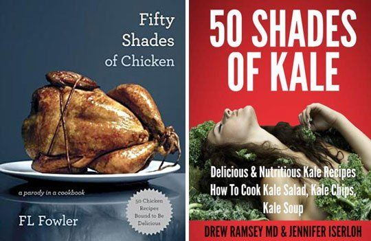 Fifty Shades of Naughty Cooking Puns: Cookbook Riffs on the Popular Book — Food News