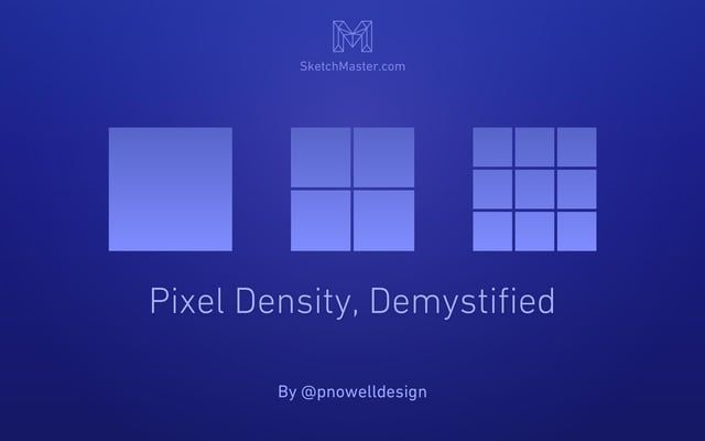 "Understanding pixel density in digital screens is essential for any screen-based designer. What do terms like ""1x"" and ""2x"" really mean, and why do they matter? And, most importantly, how can you manage the increasing complexity of designing for devices with a wide range of pixel densities?  Medium Article: https://medium.com/@pnowelldesign/pixel-density-demystified-a4db63ba2922 Helpful Resources: http://sketchmaster.com/pixel-density/?sm_s=vmdsc  This video was made as part of Sketch M..."