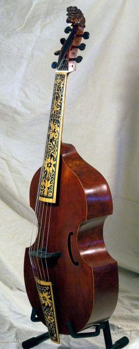 #DominikZuchowicz - Viola da #gamba after Joachim #Tielke (1641-1719)