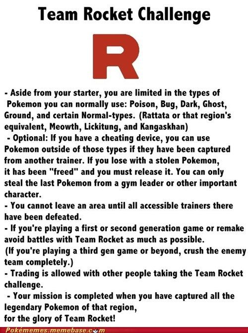 Team Rocket Challenge: close enough to the real thing