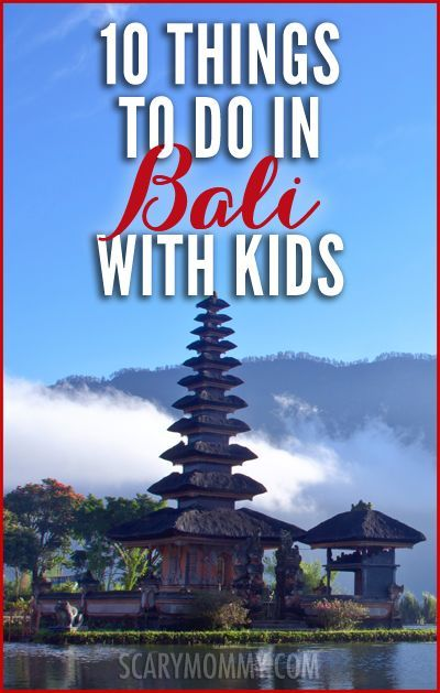 10 Things to do in Bali with Kids Scary Mommy