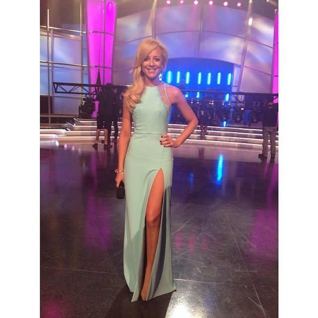 Love This Shot Of Carrie Bickmore Wearing Paolo Sebastian