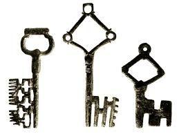 Resultado de imagen para ancient roman locks and keys