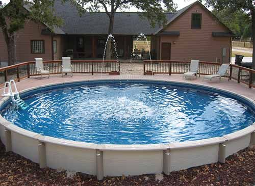 The nice thing about this homemade swimming pools is that they come in all shapes and sizes. Depending on how much time you have and how capable you are, you can work with many different