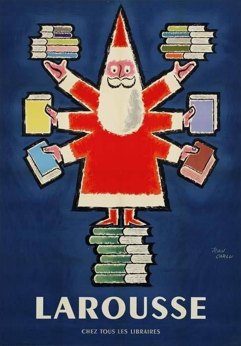 Santa Claus Larousse by Jean Carlu <3