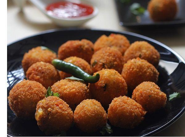 Fried Vegetable Balls recipe